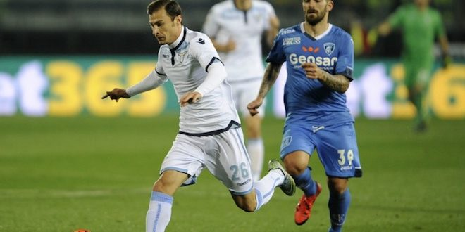Una foto dell'ultimo match di Empoli-Lazio