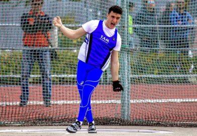 Atletica, vola il martello di Giorgio Olivieri