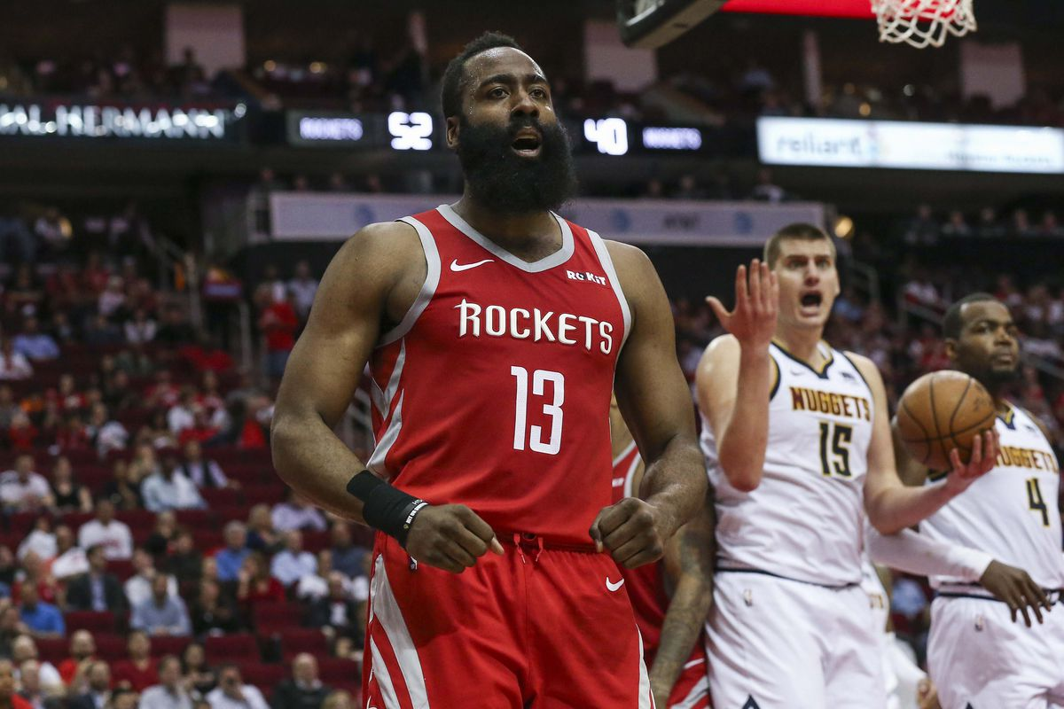 James Harden schianta i Nuggets