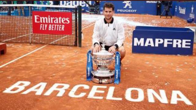 Thiem vince l'ATP 500 di Barcellona