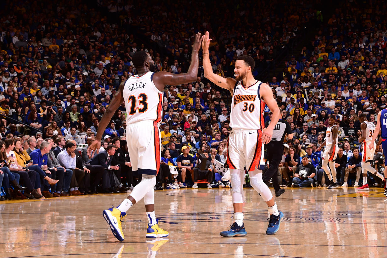Draymond Green e Stephen Curry