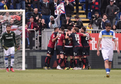 Serie A, Cagliari-Frosinone e il rigore della vittoria