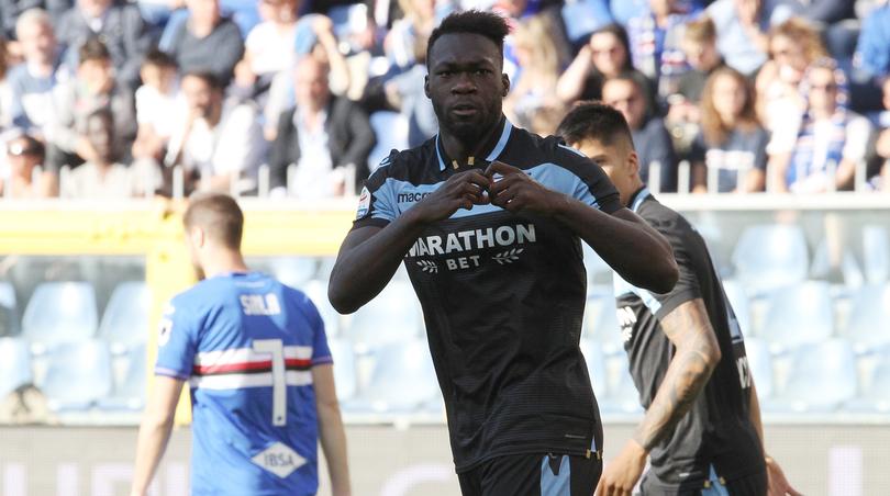 Caicedo porta in vantaggio la Lazio.