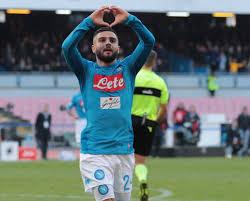 Contro l'Arsenal Insigne ha giocato la sua 300a partita con la maglia del Napoli.