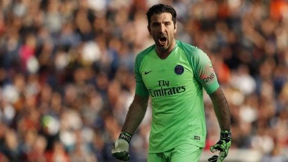 Gigi Buffon, numero uno del PSG e della nazionale.