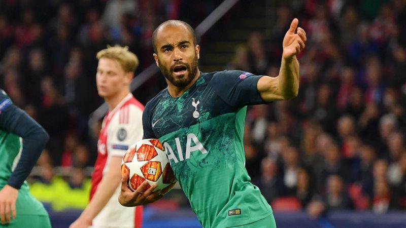 Lucas accorcia le distanze. Tottenham è Finale! Lucas&Co. eliminano 2a3 l'Ajax delle meraviglie.