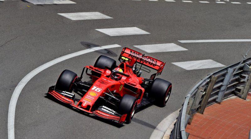 Prove Libere GP Monaco - Montecarlo - Leclerc