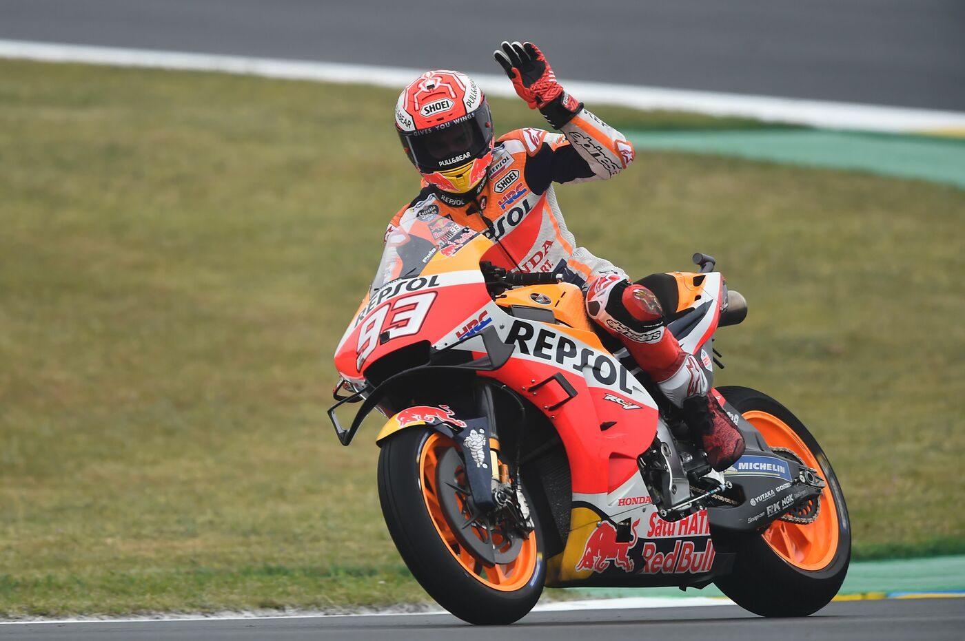 MotoGP Le Mans qualifiche Pole Marquez