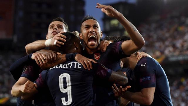 Valencia-Arsenal 2-3, Aubameyang la chiude.