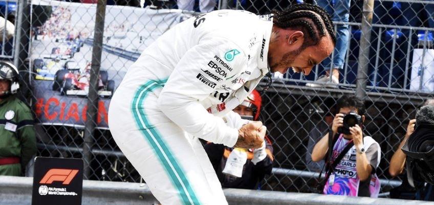 Pole Hamilton GP Monaco 2019