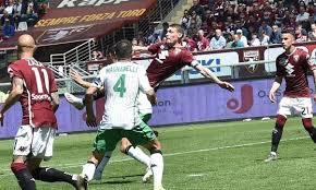 Belotti con una splendida mezza rovesciata trova il goal del 3-2 che porta finalmente in vantaggio il Torino.