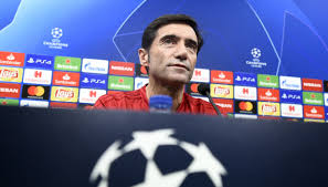 Marcelino in conferenza stampa prima di Valencia-Arsenal.