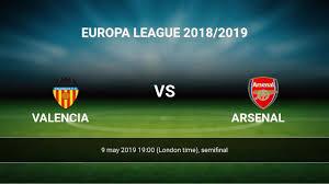 Valencia-Arsenal, ritorno della semi finale di EL.