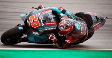 GP Catalunya - Quartararo comanda le seconde libere. Bene Rossi