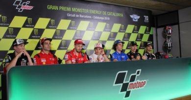 GP Barcellona - Conferenza piloti