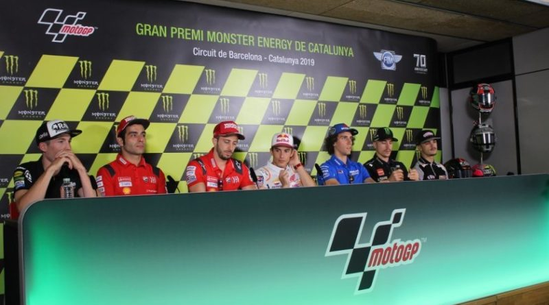 GP Barcellona - Conferenza piloti