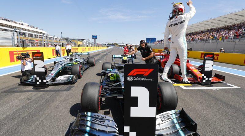 Gp Francia - Hamilton in pole davanti a Bottas. Male Seb