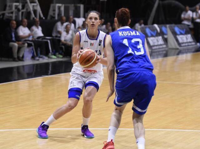 Europei femminili basket - Cecilia Zandalasini