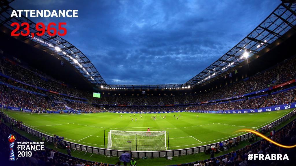 Quasi 24000 spettatori sono accorsi allo stadio di Le Havre per questo grande ottavo di finale.
