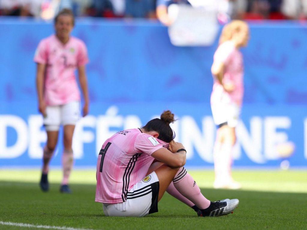 La grande delusione delle ragazze Scozzesi, incappate quest'oggi nella seconda sconfitta in due partite di questo Mondiale femminile di Francia 2019.