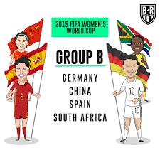 Cina e Spagna, assieme a Germania e Sudafrica erano le Nazionali impegnate nel gruppo B di Francia 2019