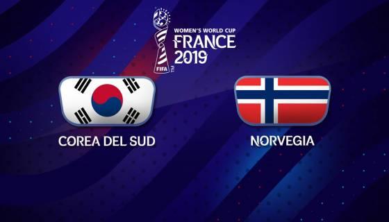 La sfida tra Corea del Sud e Norvegia termina 1-2