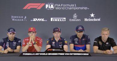 F1 - Conferenza stampa piloti