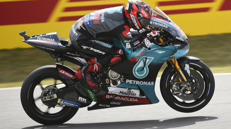 Gp Assen - Prove libere 3: Quartararo in vetta, Rossi in Q1