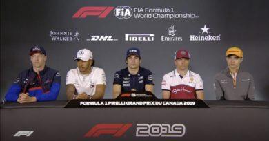 Conferenza piloti GP Canada