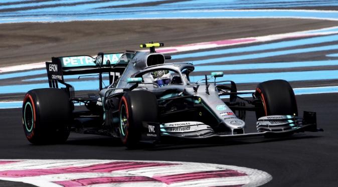 GP Francia - La Mercedes domina le prove libere