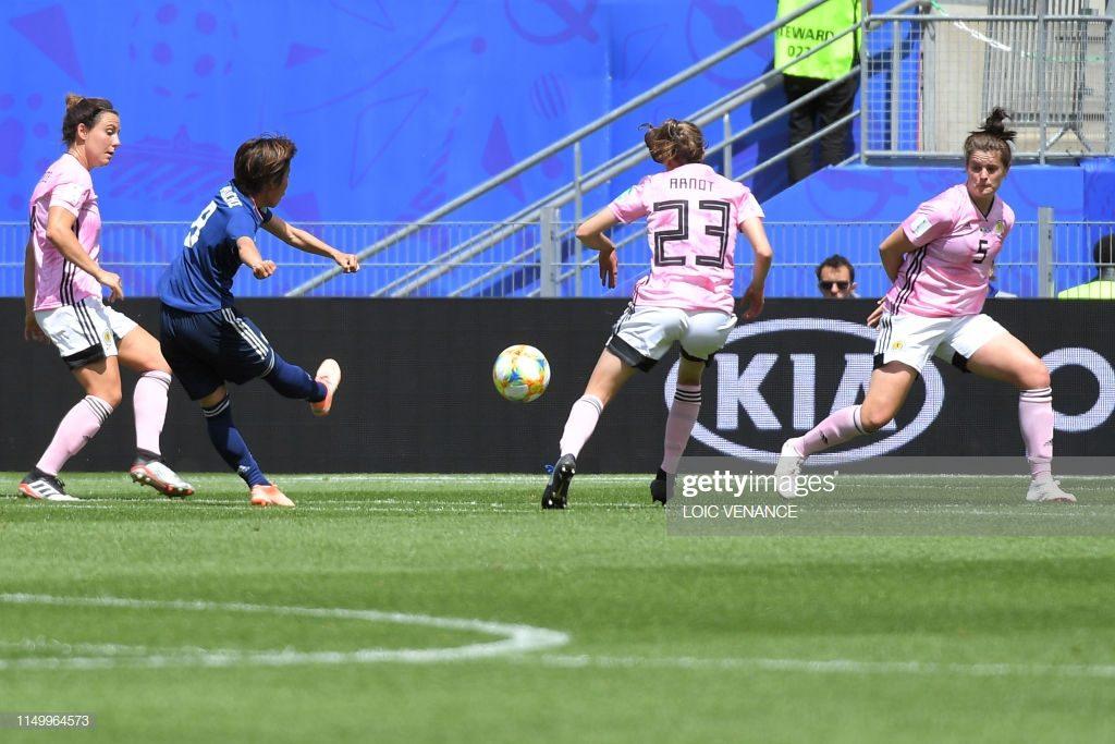 La bella conclusione di Iwabuchi porta in vantaggio le Asiatiche: Giappone-Scozia 1-0.