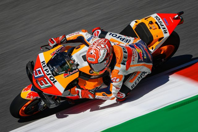 marquez qualifiche mugello