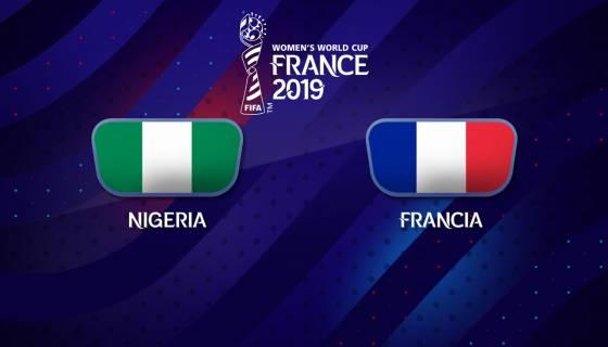 La sfida, del gruppo A, tra Nigeria e Francia termina 0-1