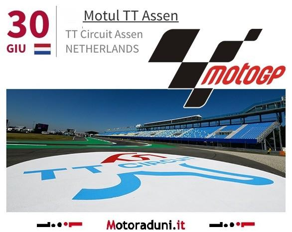 GP Assen - Gli orari del week-end in TV