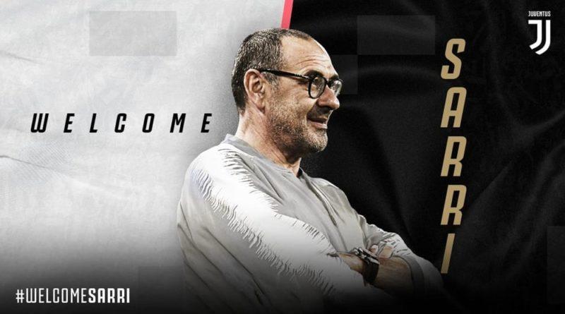 Maurizio Sarri è il nuovo allenatore della Juventus