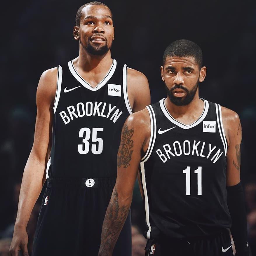 Durant e Irving ai Nets