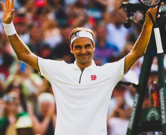 Wimbledon - Federer