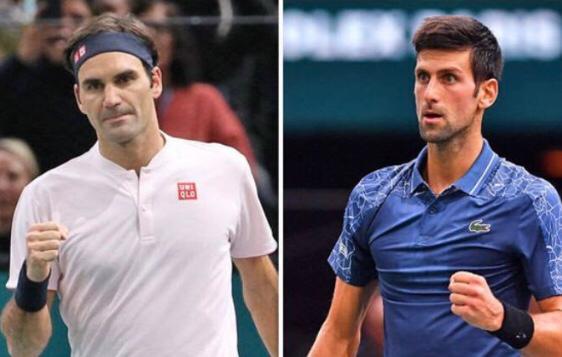 Federer-Djokovic streaming tv