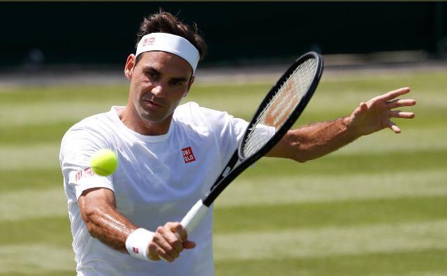 Thiem - Federer batte Harris