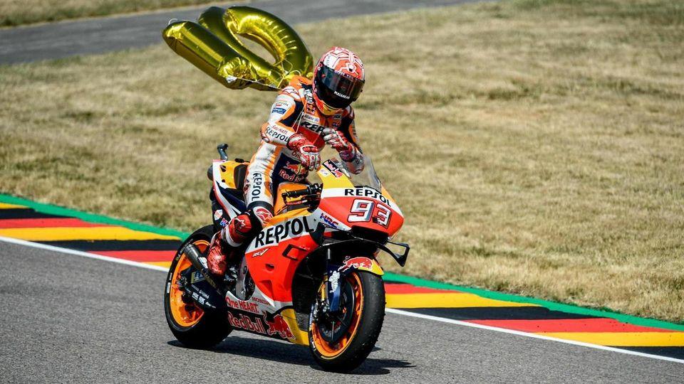 MotoGP - Marquez vince la decima al Sachsenring