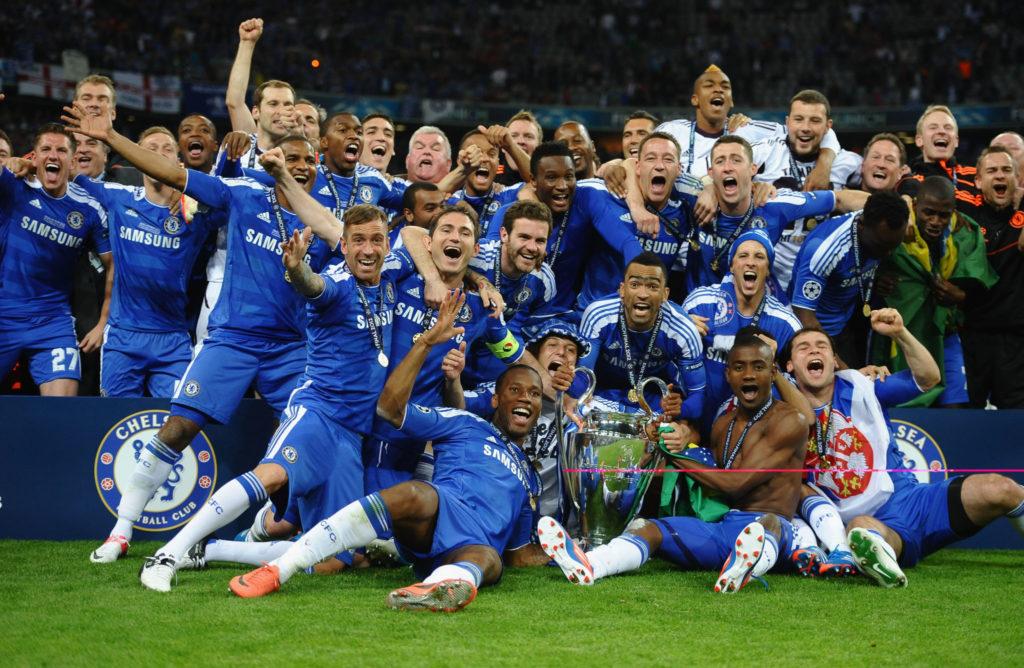 Il Chelsea campione d'Europa, nel 2012, dopo aver battuto, ai rigori, il Bayern Monaco, proprio tra le loro mura amiche