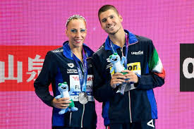 La coppia d'argento, nel sincronizzato misto in coppia, Flamini-Minisini