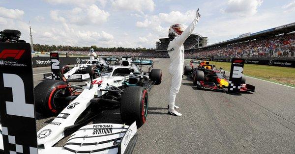 Harakiri Ferrari ad Hockenheim! Hamilton in pole