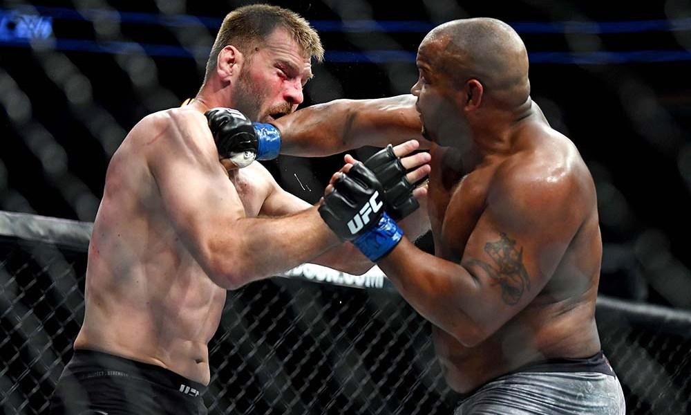 UFC 241 lo scontro tra Daniel Cormier e Stipe Miocic