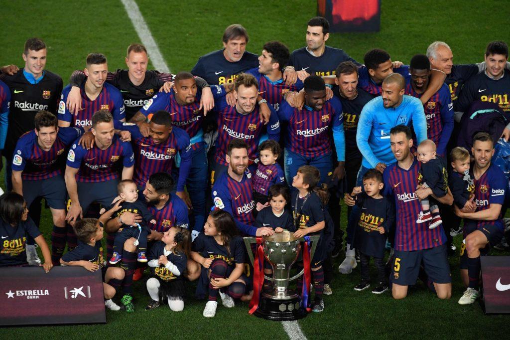 Il Barcellona è campione in carica di Spagna