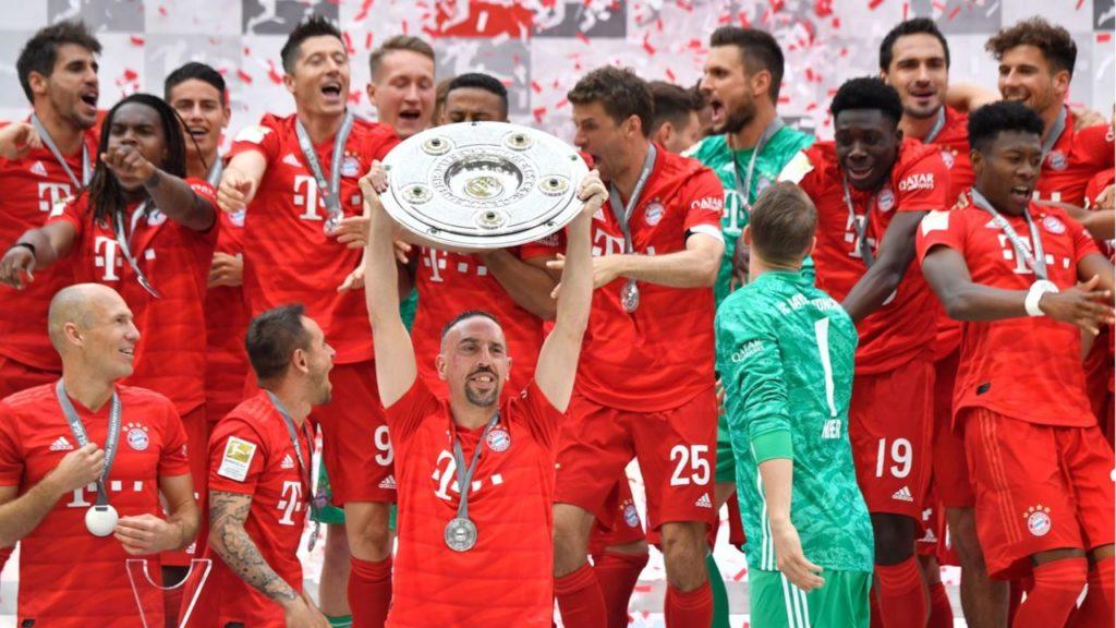 Il Bayern Monaco si è laureato campione nella scorsa Bundesliga, al termine di un emozionante testa a testa col Borussia Dortmund