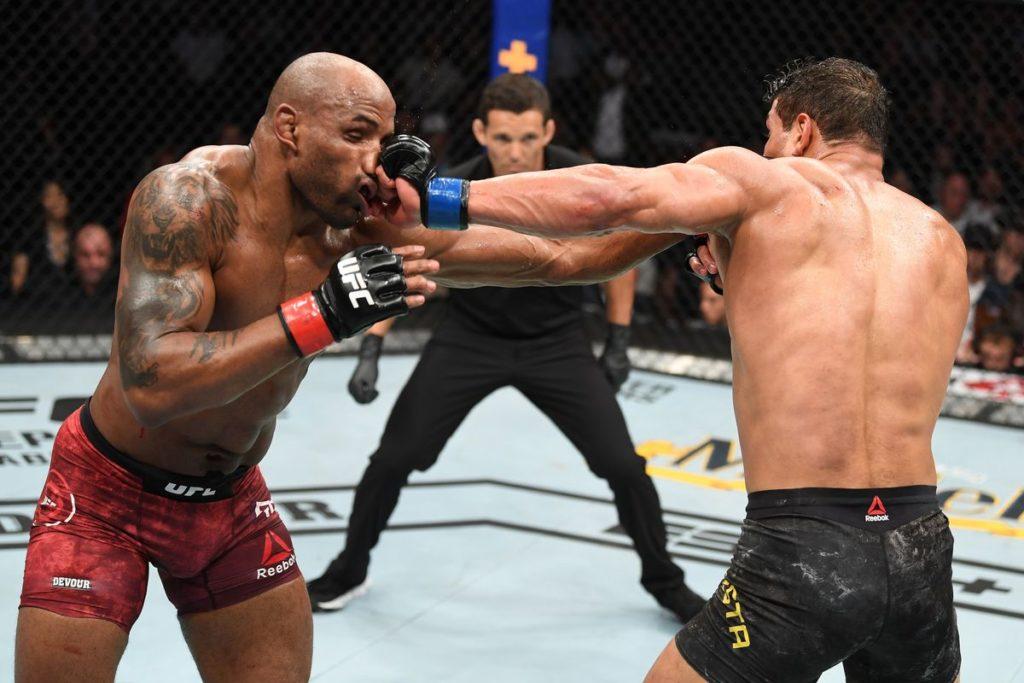 UFC 241 -Un combattimento incredibile e surreale tra due atleti assolutamente bestiali