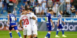 Il Siviglia dopo la vittoria contro l'Alaves è la nuova capolista de La Liga
