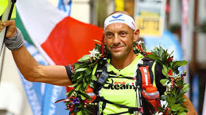 Oliviero Bosatelli è stato il primo atleta a tagliare il traguardo di Courmayeur di questa edizione 2019 del Tor des Géants.