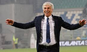 Gasperini, allenatore eroe per tutti i tifosi dell'Atalanta.